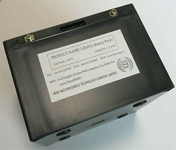 12.8V/12.8Ah Battery Pack